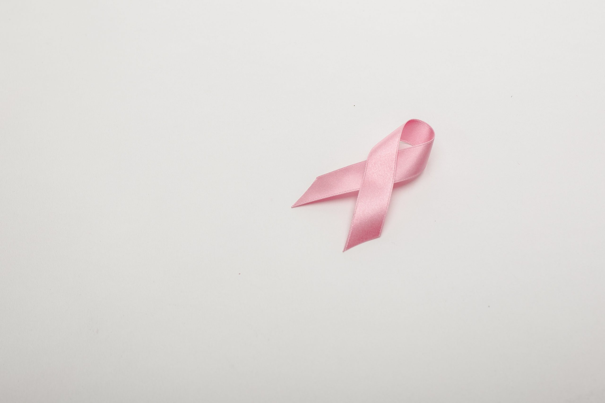 pink ribbon that represents breast cancer awareness month